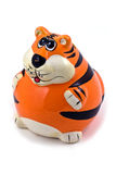 Tiger statuette Royalty Free Stock Photo