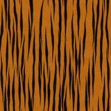 Tiger-Streifen-Musterfaux-Pelz-Hintergrund Lizenzfreie Stockfotografie