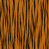 Tiger Stripe Pattern Faux Fur Background royalty free illustration