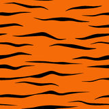 Tiger Stripe Pattern Tile Royalty Free Stock Photos