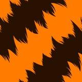 Tiger stripe skin. Seamless pattern Royalty Free Stock Images