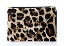 Tiger striped fashion handbag Stock Photo