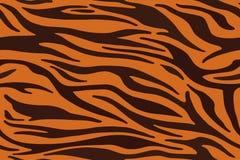 Tiger stripes pattern, animal skin, line background. Vector. Seamles texture vector illustration