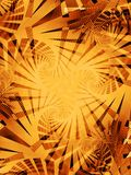 Tiger Stripes Pattern Texture. A gold, yellow and orange tiger stripes pattern texture background with swirling lines and striped designs Royalty Free Stock Photos