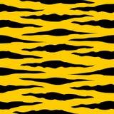 Tiger Stripes Seamless Pattern Vector royalty free illustration