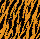 Tiger Stripes Skin Stock Photography