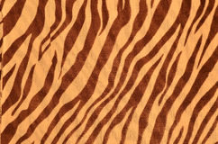 Tiger style fabric Stock Images