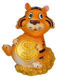 Tiger, a symbol of 2010. Royalty Free Stock Photo