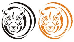 Tiger symbol Stock Photography