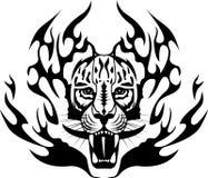 Tiger Tattoo Royalty Free Stock Image