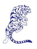 Tiger tattoo Stock Photo