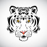 Tiger tattoo stylish illustration Royalty Free Stock Photography