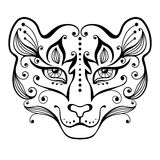 Tiger tattoo. Royalty Free Stock Image