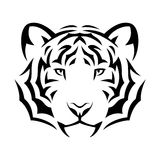 Tiger tattoo Royalty Free Stock Photo
