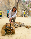 Tiger Temple, Thailand Stock Photo