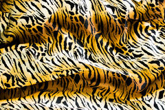 Tiger textile Stock Images