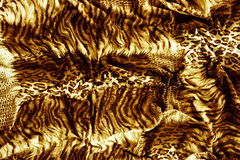 Tiger textile piece of clothes Stock Photo