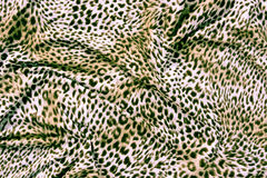 Tiger textile piece of clothes Stock Photography
