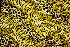 Tiger textile piece of clothes Stock Photo