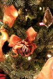 Tiger themed Christmas tree Royalty Free Stock Photography