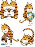 Tiger in Tierkreisteil 1 Lizenzfreie Stockfotografie