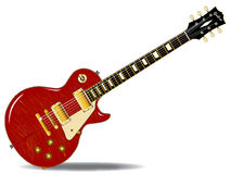 Tiger Top Guitar Royalty Free Stock Photography