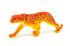 Tiger toy isolated on white Royalty Free Stock Photos