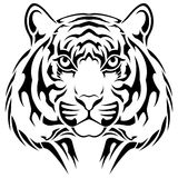 Tiger, tribal tattoo Royalty Free Stock Photography