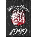 Tiger Tshirt Design Stock Photography