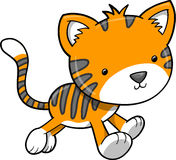 Tiger Vector Illustration Royalty Free Stock Image