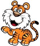 Tiger. Vector illustration of Tiger cartoon Stock Photos