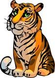 Tiger. Vector illustration Stock Photo