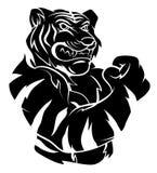 Tiger verärgert Lizenzfreies Stockfoto