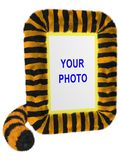 Tiger (vertikales Foto-Feld) stockfotografie