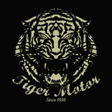 Tiger vintage Royalty Free Stock Images
