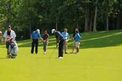 Tiger Woods на мемориале Стоковые Фотографии RF