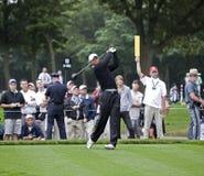 Tiger Woods in den 2009 US öffnen sich Lizenzfreie Stockfotos