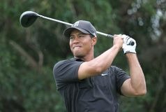 Tiger Woods Doral 2007 Images stock