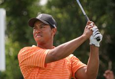 Tiger Woods Doral 2007 Fotos de Stock Royalty Free