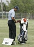 Tiger Woods em Doral em Miami fotografia de stock