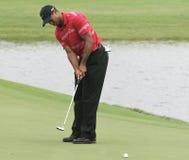 Tiger Woods em Doral em Miami fotos de stock