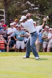 Tiger Woods Full Swing 1 of 6 Stock Photo