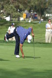 Tiger Woods Golfer 2011 Farmers Insurance Open royalty free stock photo