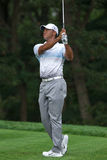 Tiger Woods no Barclays 2012 Foto de Stock