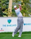 Tiger Woods på Barclaysen 2012 Arkivbild
