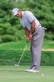 Tiger Woods på Barclaysen 2012 Fotografering för Bildbyråer