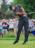 Tiger Woods på US Open 2013 Arkivfoton