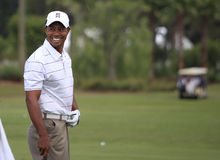 Tiger Woods at The Players Championship 2012 Stock Image