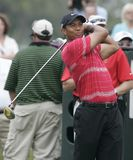 Tiger Woods at Doral in Miami stock photos