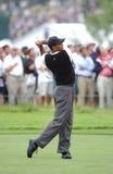 Tiger Woods u 2002 S открыто Стоковые Изображения